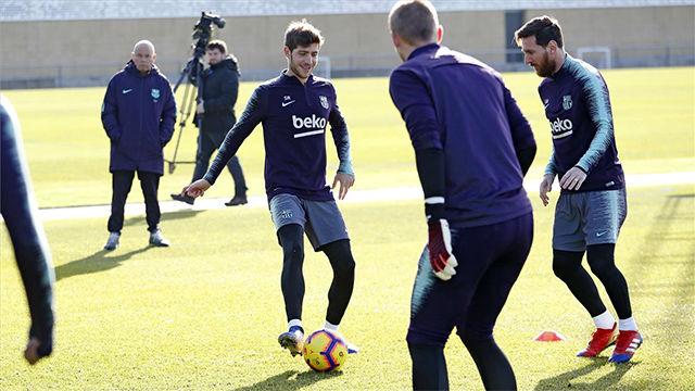 El Barça ha vuelto al trabajo tras las vacaciones de Navidad