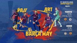 La FC Barcelona Japan Tour 2019 tendrá lugar entre el 20 y el 28 de julio