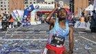 Bekele celebra su victoria y récord en la Marató de Barcelona