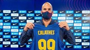 Calathes se estrenará con el Barça en la Supercopa Endesa