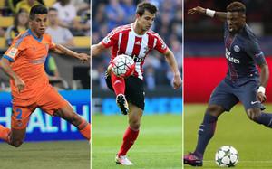 Cancelo (Valencia), Soares (Southampton) y Aurier (PSG) son tres de las opciones que baraja la secretaría técnica