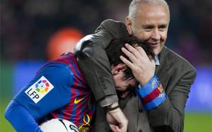Carles Naval es en el Barça muchísimo más que el delegado