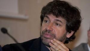 Demetrio Albertini, durante el debate sobre el VAR