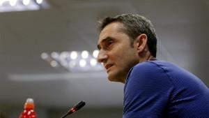 Ernesto Valverde, entrenador del FC Barcelona