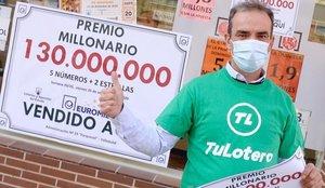 El Euromillones cae en Valladolid: un vecino se hace con 130 millones de euros