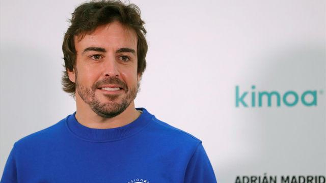 Fernando Alonso da su opinoón sobre el Procés