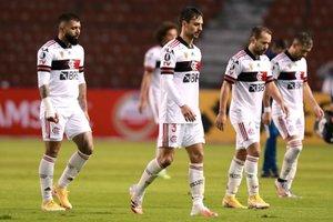 Flamengo viene de perder el invicto en la Copa Libertadores