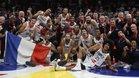 Francia festejó el bronce en el mundial de China