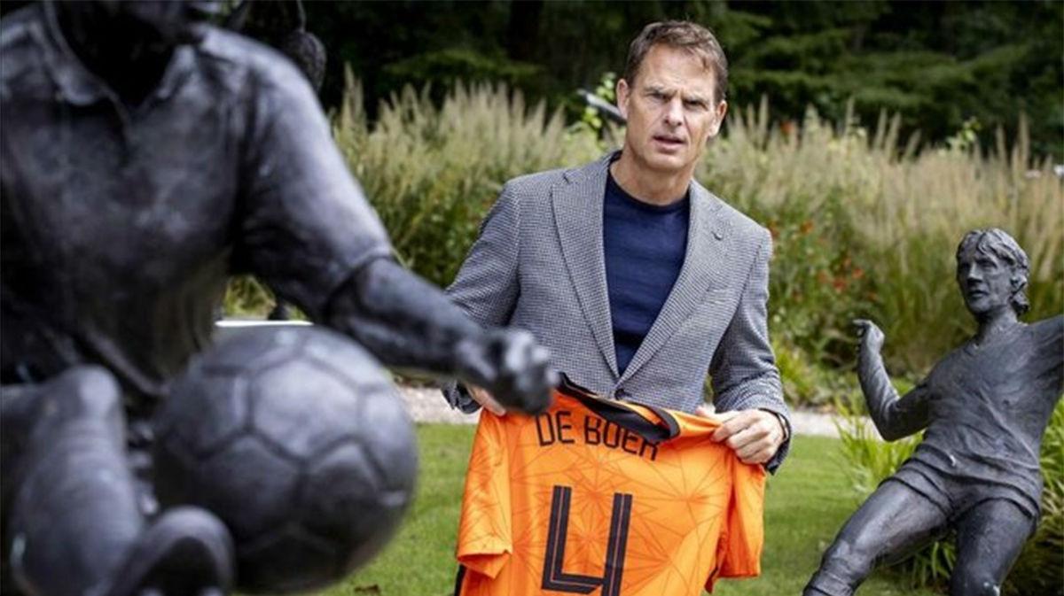 Frank de Boer, presentado con Holanda: No soy una copia de Koeman
