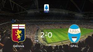 El Génova consigue la victoria en casa frente al SPAL (2-0)