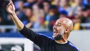 Guardiola, entrenador del Manchester City