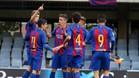 Gumbau marcó uno de los goles del Barça B