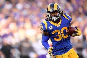 Gurley y los Rams perdieron la última Super Bowl ante New England