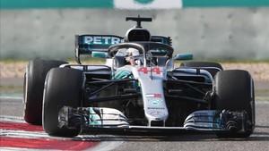 Hamilton ha aprendido a sufrir cuando las cosas no van como quisiera en la pista