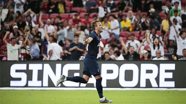 Harry Kane se luce ante la Juve con un gol desde medio campo
