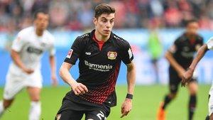 Havertz se ha convertido en uno de los jugadores con más futuro de Alemania