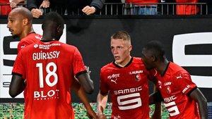 El joven Truffert marcó el tanto de la victoria del Stade Rennais