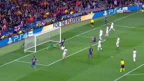 LACHAMPIONS   FC BARCELONA - ROMA (4-1): El gol con mensaje de Umtiti
