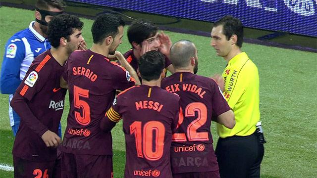 LACOPA | Espanyol - FC Barcelona (1-0): Perdonaron la expulsión a Aarón