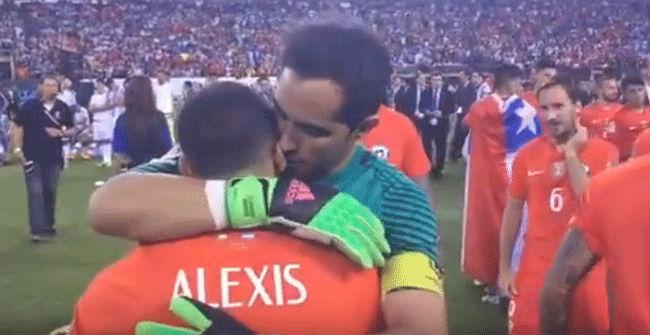 Las tiernas palabras de Bravo a Alexis