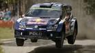 Latvala en el Rally de Finlandia