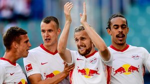 El Leipzig debuta en la Bundesliga con una victoria contundente