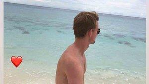 De Ligt está de vacaciones en las Bahamas