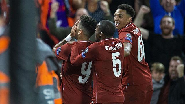 El Liverpool se lleva la lucha de tridentes