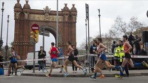 Los atletas volverán a tomar las calles de Barcelona