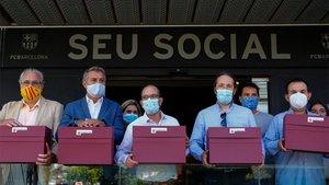 Los impulsores de la moción contra Bartomeu denunciaron un ataque informático a su página web