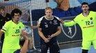 Ludovic Fabregas y Thiagus Petrus, ante el Montpellier en la pasada pretemporada