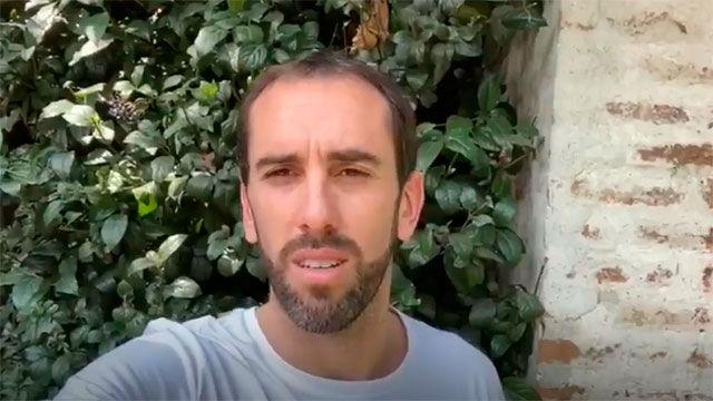 El mensaje de Godín desde Uruguay tras cumplir la cuarentena en Italia
