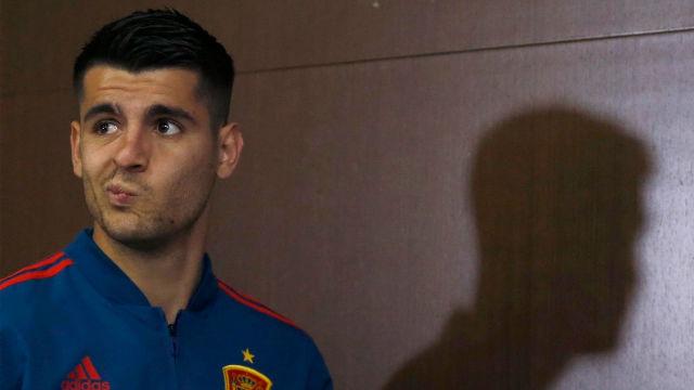Morata: Mandaré un mensaje a Casillas porque habrá atracado un poco