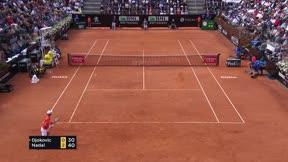 Nadal vence a Djokovic en la final de Roma