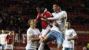 El Nàstic viene de perder en casa ante el Zaragoza