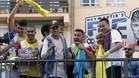Neymar disfrutó con el torneo callejero
