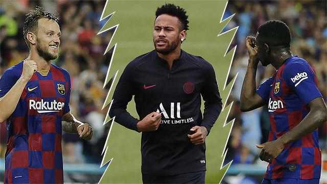 Operación Neymar: entra Rakitic, Dembelé cedido y 125 millones