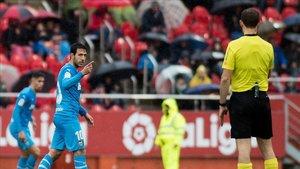 Parejo fue expulsado en Mallorca y no podrá jugar contra el Barça