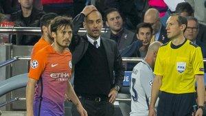 Pep Guardiola, con el Manchester City y el Bayern Múnich, es uno de los exjugadores del Barça que se han sentado en el banquillo visitante del Camp Nou