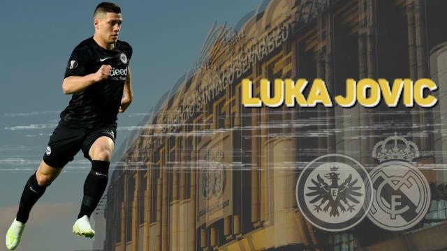 El perfil de Luka Jovic