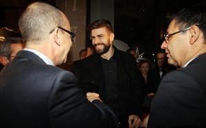 Piqué tiene el beneplácito de Bartomeu y el club para usar las redes sociales