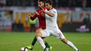 Portugal y Polonia firmaron un partido bastante insulso