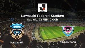 Previa del partido: inicia el campeonato para el Kawasaki Frontale jugando ante el Sagan Tosu