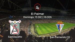 Previa del partido: el At. Sanluqueño recibe al San Fernando en la decimoséptima jornada