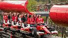 Räikkönen visita Ferrari Land