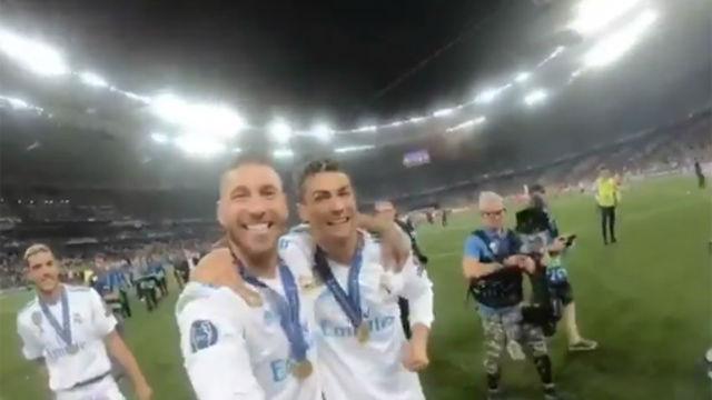 Ramos y Cristiano se preguntan dónde está Serresiete