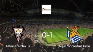 La Real Sociedad doblegó al Fundación Albacete por 0-1