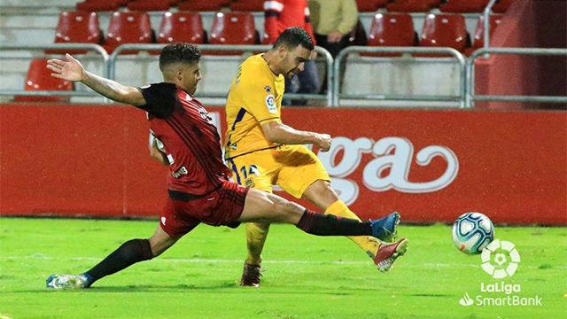 Rui Costa da el empate al Alcorcón en los últimos minutos