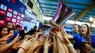 El Sabadell alza la quinta Euroliga