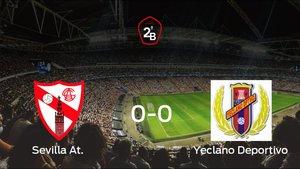 El Sevilla At. y el Yeclano Deportivo empatan (0-0)